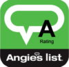 Angie's List A Rating Badge