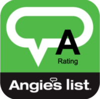 Angies List A rating logo