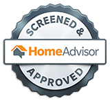 HomeAdvisor Approved Contractor Badge